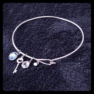 Origami Owl core charm bangle & charms